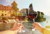 Italiaans eten en wijn