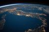 Italië vanuit de ruimte
